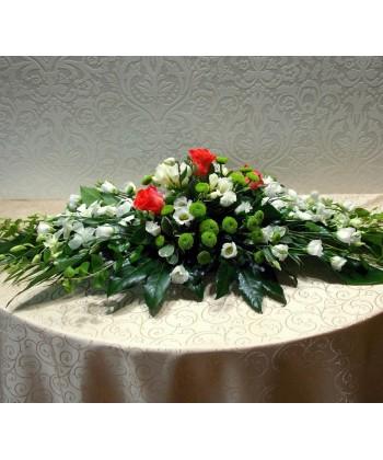 Aranjament funerar pentru sicriu