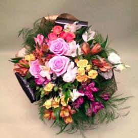 Buchet flori Maria viu colorat