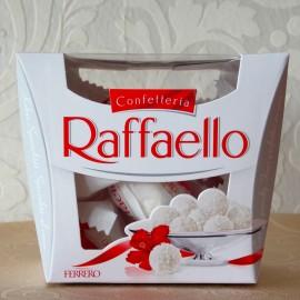Cutie de 15 praline Raffaello cu nuca de cocos